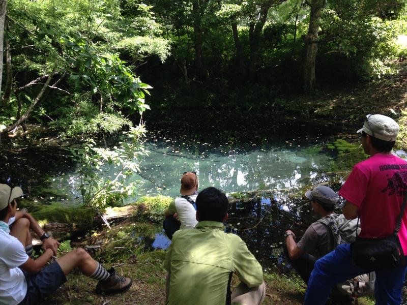笹ヶ峰 ぶくぶく池